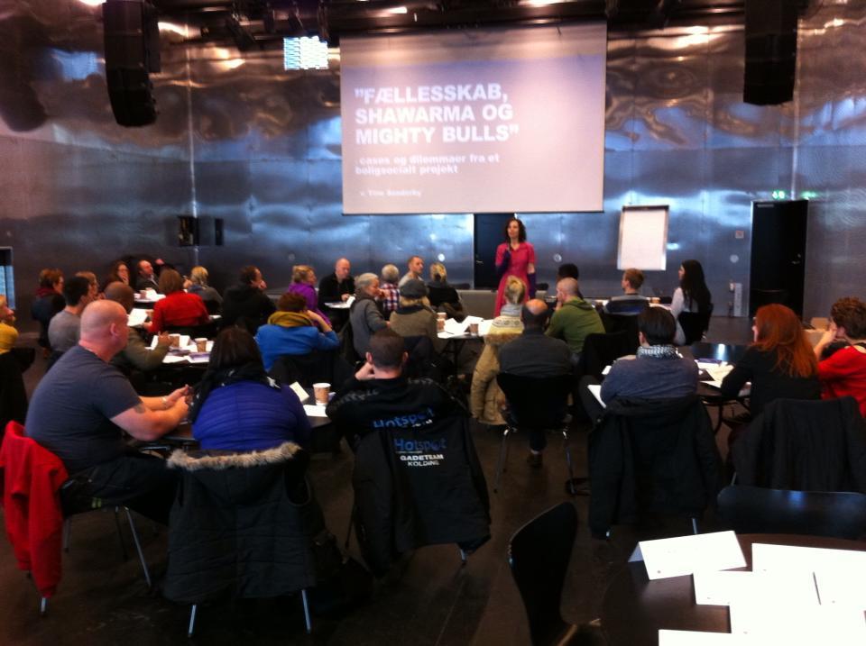 Workshop om ungeinddragelse