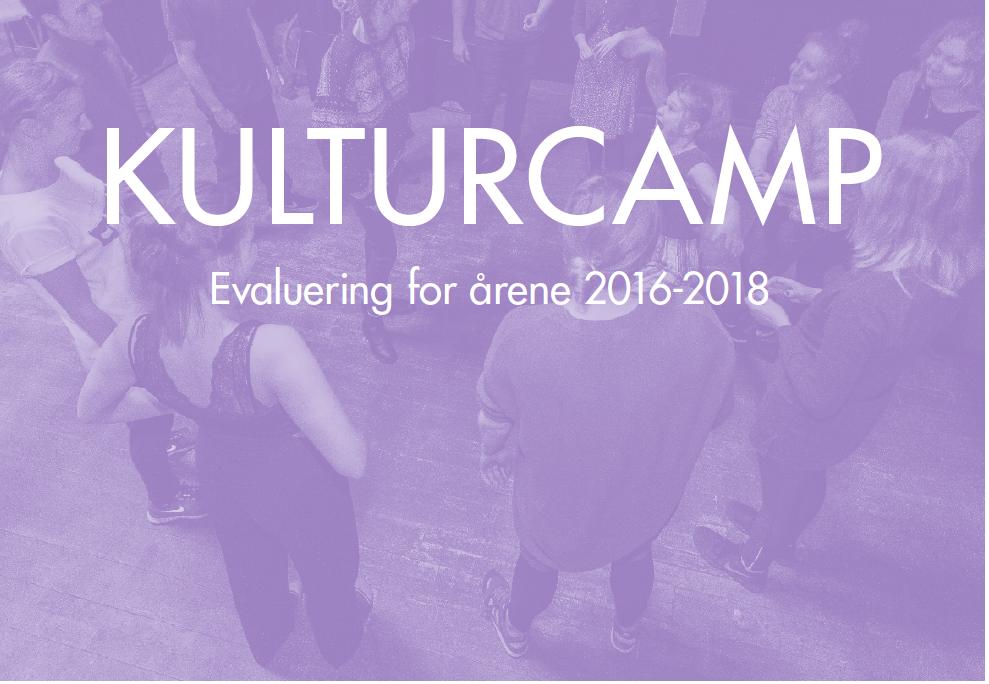Evaluering af Kulturcamps scenekunstverden